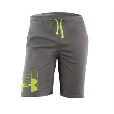 Under Armour Boys Prototype Logo Shorts Gravity Green/X Ray 1341128 388