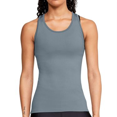 Under Armour Victory Tank Womens Hushed Turquoise/Black/Metallic Silver 1349123 396