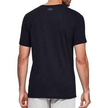 Under Armour Clear Logo Tee Shirt Mens Black 1351618 001