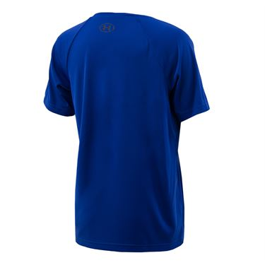 Under Armour Boys Tech Big Logo Shirt - Royal/Black