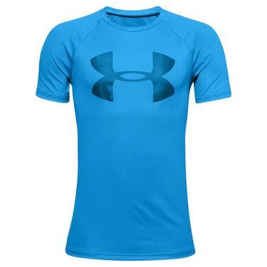 Under Armour Boys Tech Big Logo Shirt Electric Blue/Dynamic Blue 1351850 428