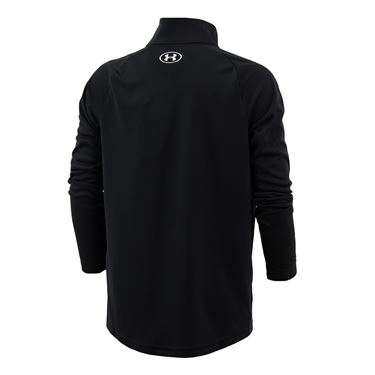 Under Armour Boys Tech 20 1/2 Zip Pullover Black/White 1355589 001