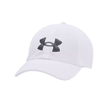 Under Armour Blitzing Adjustable Mens Hat - White/Pitch Gray