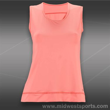 Sofibella Navigate Athletic Sleeveless Top-Sorbet