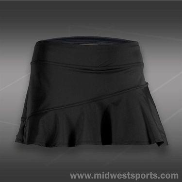 Lija Balance Ruffle Skirt-Graphite