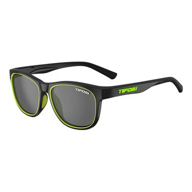 Tifosi Swank Sunglasses - Satin Black/Neon/Smoke
