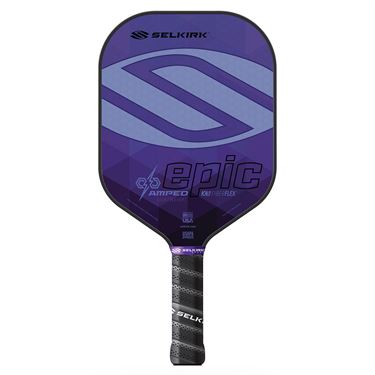 Selkirk Amped Epic Lightweight Pickleball Paddle - Purple