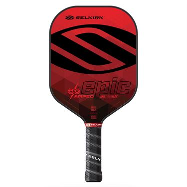 Selkirk Amped Epic Midweight Pickleball Paddle - Red