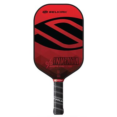Selkirk Amped Invikta Midweight Pickleball Paddle - Red