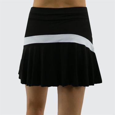 Sofibella Ravello 15 inch Skirt Plus Size Womens Black 1546 BLKP