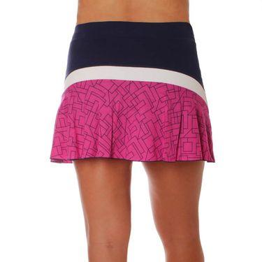 Sofibella Amunet Rainbow 15 Inch Skirt - Navy