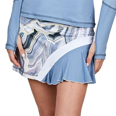 Sofibella Blue Moon 15 inch Skirt Plus Size Womens Quartz 1546 QRZP
