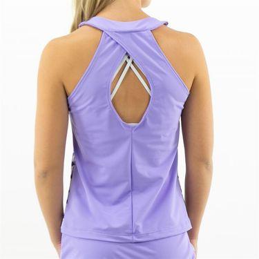 Jerdog Monaco Breeze Slim Neck Top Womens Rose/Purple 16007 MB11