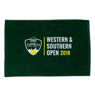 Western & Southern Open 2018 Logo Small Towel - Hunter Green