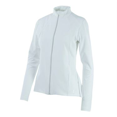 Sofibella Peplum Jacket - White