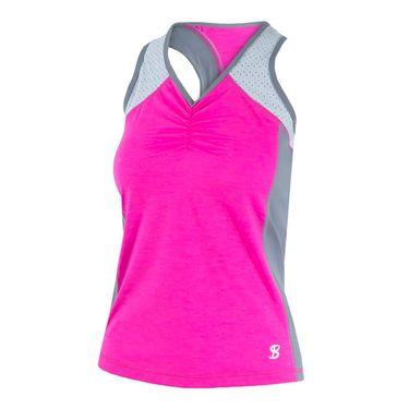 Sofibella Rio Sport Tank - Pink Melange