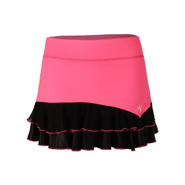 Sofibella Dark Night 12 Inch Skirt - Neon Pink