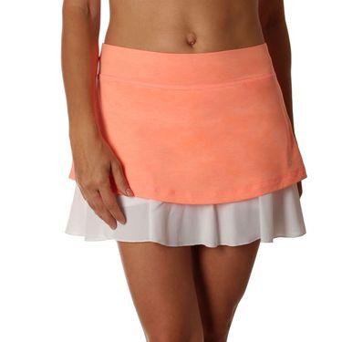 Sofibella Singapore Plus Size Love Skirt - Peach