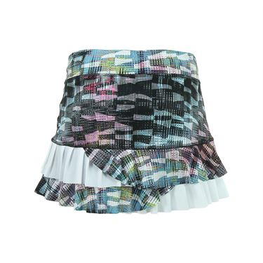 Sofibella Madrid Power 13 Inch Skirt - Matrix Print