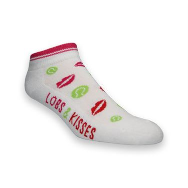 K Bell Tennis Lobs and Kisses Sock