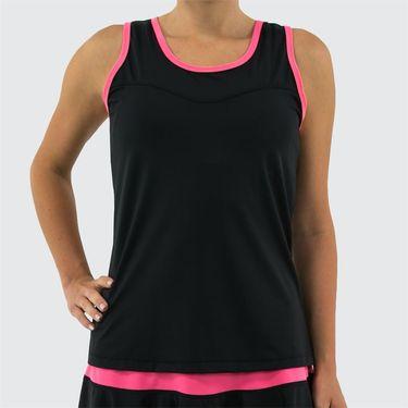 Jerdog Windstar Slide Spin Tank Womens Black/Pink Coral 17003 W2
