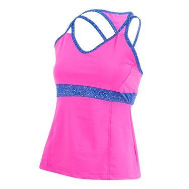 Jerdog Royal Tweed Strappy Cami - Pink