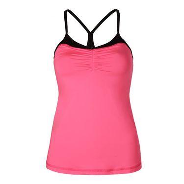 Sofibella Dark Night Athletic Cami - Neon Pink