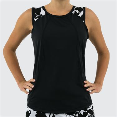 Jerdog Windstar Love Tank Womens Black/White 17281 W2