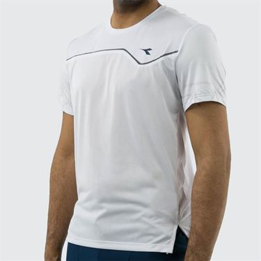 Diadora Clay Sun Lock Tee Shirt - Optical White