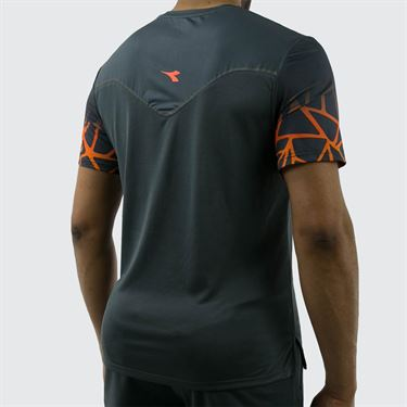 Diadora Clay Sun Lock Tee Shirt - Castle Rock