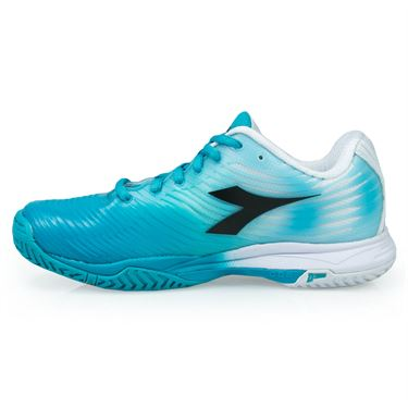 Diadora S Competition Womens Tennis Shoe - Ceramic Blue/White