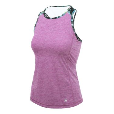 Sofibella Madrid Circuit Tank - Berry