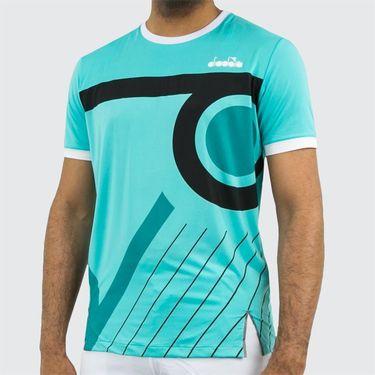 Diadora T Shirt Clay - Atlantis