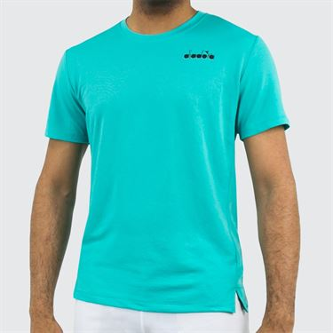 Diadora T Shirt Easy Tennis - Atlantis