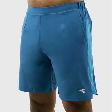 Diadora Match Point Bermuda Easy Short - Blue/Deep Water 174143 60080