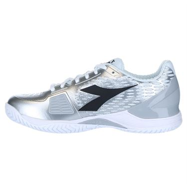 Diadora Speed Blushield 3 Womens Tennis Shoe - White/Silver