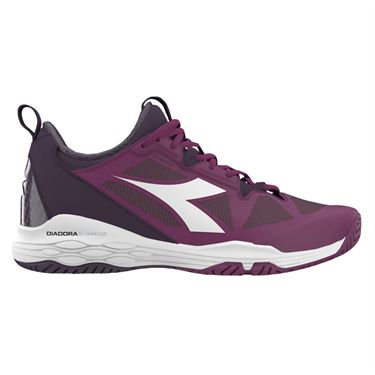 Diadora Speed Blushield Fly 2 AG Womens Tennis Shoe - Boysenberry/Perfect Plum 174433 C8091