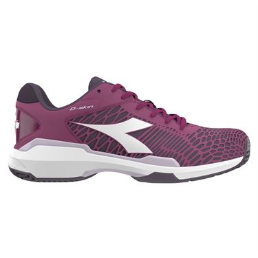 Diadora Speed Competition 5 AG Womens Tennis Shoe - Boysenberry/Perfect Plum 174437 C8091