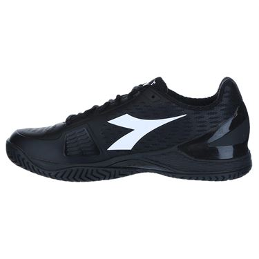 Diadora Speed Blushield 3 Mens Tennis Shoe - Black/Steel Grey