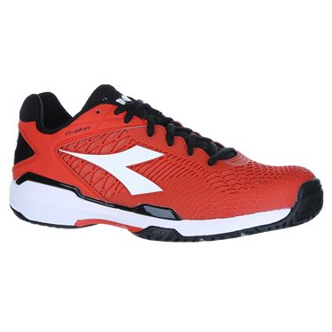 Diadora Speed Competition 5 Mens Tennis Shoe - Orange/White