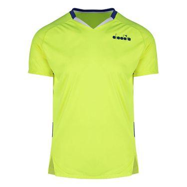 Diadora Tee Shirt Mens Fluo Yellow 175666 97015
