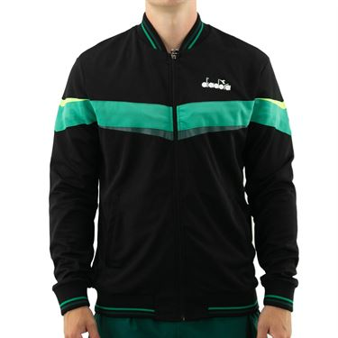 Diadora FZ Jacket Mens Black 175669 80013û