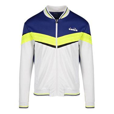 Diadora Jacket Mens Bright White/Royal Blue 175669 C8351