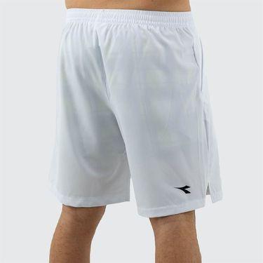 Diadora Bermuda Easy Tennis Short Mens Optical White 175682 20002