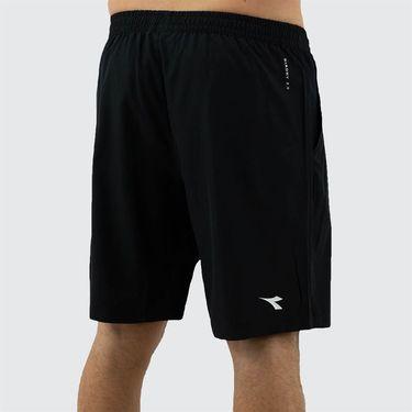 Diadora Bermuda Easy Tennis Short Mens BLack 175682 80013
