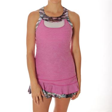 Sofibella Madrid Crosscourt Tank - Berry