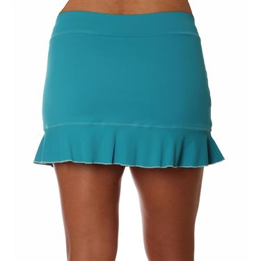 Sofibella Harmonia Plus Size Court 14 Inch Skirt - Surf
