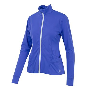 Sofibella Montreal Gym Jacket - Valley Blue