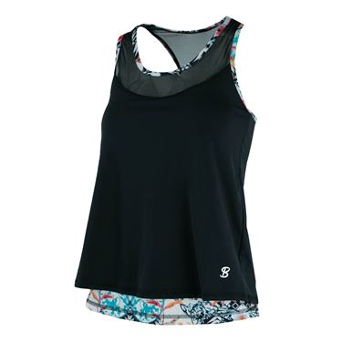 Sofibella Melbourne Charge Tank - Black