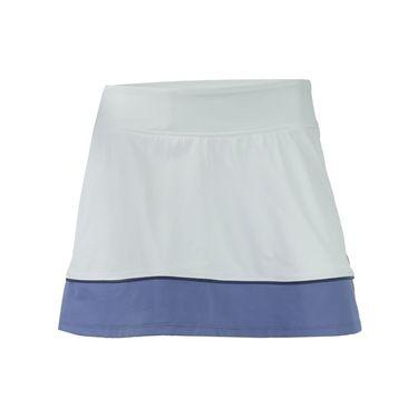 Lija Spring Twilight Borderline Skirt - White/Dusk